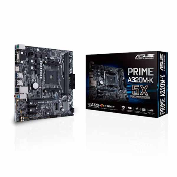 Asus Prime A320M-K  DDR4 AMD AM4 Socket Motherboard