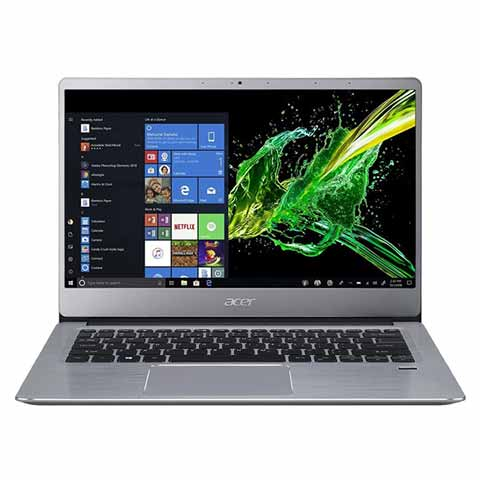Acer Swift 3 SF314-41-R1CY AMD Athlon 300U Sparkly Silver Notebook