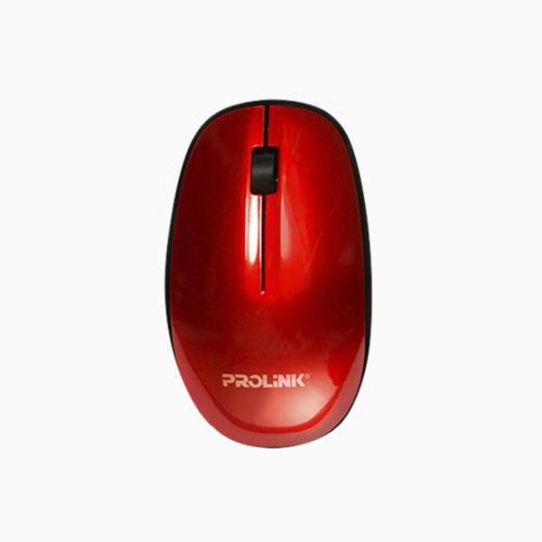 Prolink PMW5007 Wireless Nano Optical Mouse (RED)