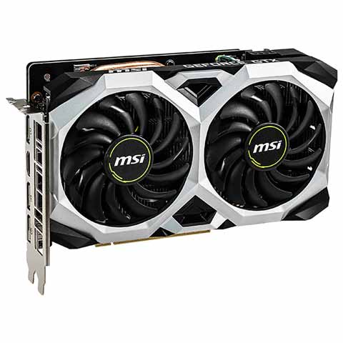 MSI NVIDIA GeForce GTX 1660 Super Ventus XS OC 6GB GDDR6 Graphics Card
