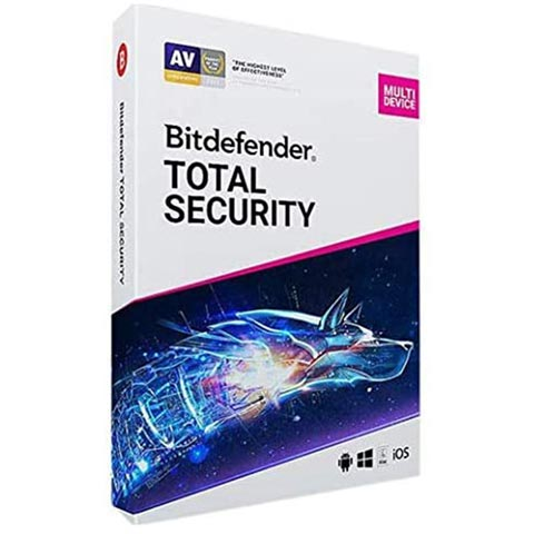 Bitdefender Total Security ( 1 User 1 Year)