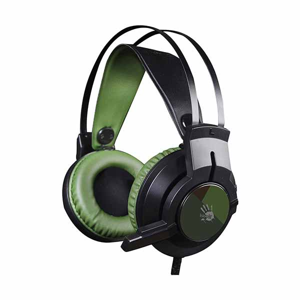 A4Tech J437 Bloody Glare USB Army Green Gaming Headset